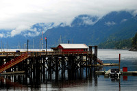 Pier, Horseshoe Bay, British Columbia 1/200